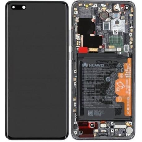 02353PJG LCD Display + Akku ELS-NX9, ELS-N04 Huawei P40 Pro - black