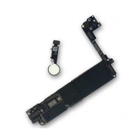 Hauptplatine/ Mainboard für iPhone 7 32GB mit Original Home Button in Weiss
