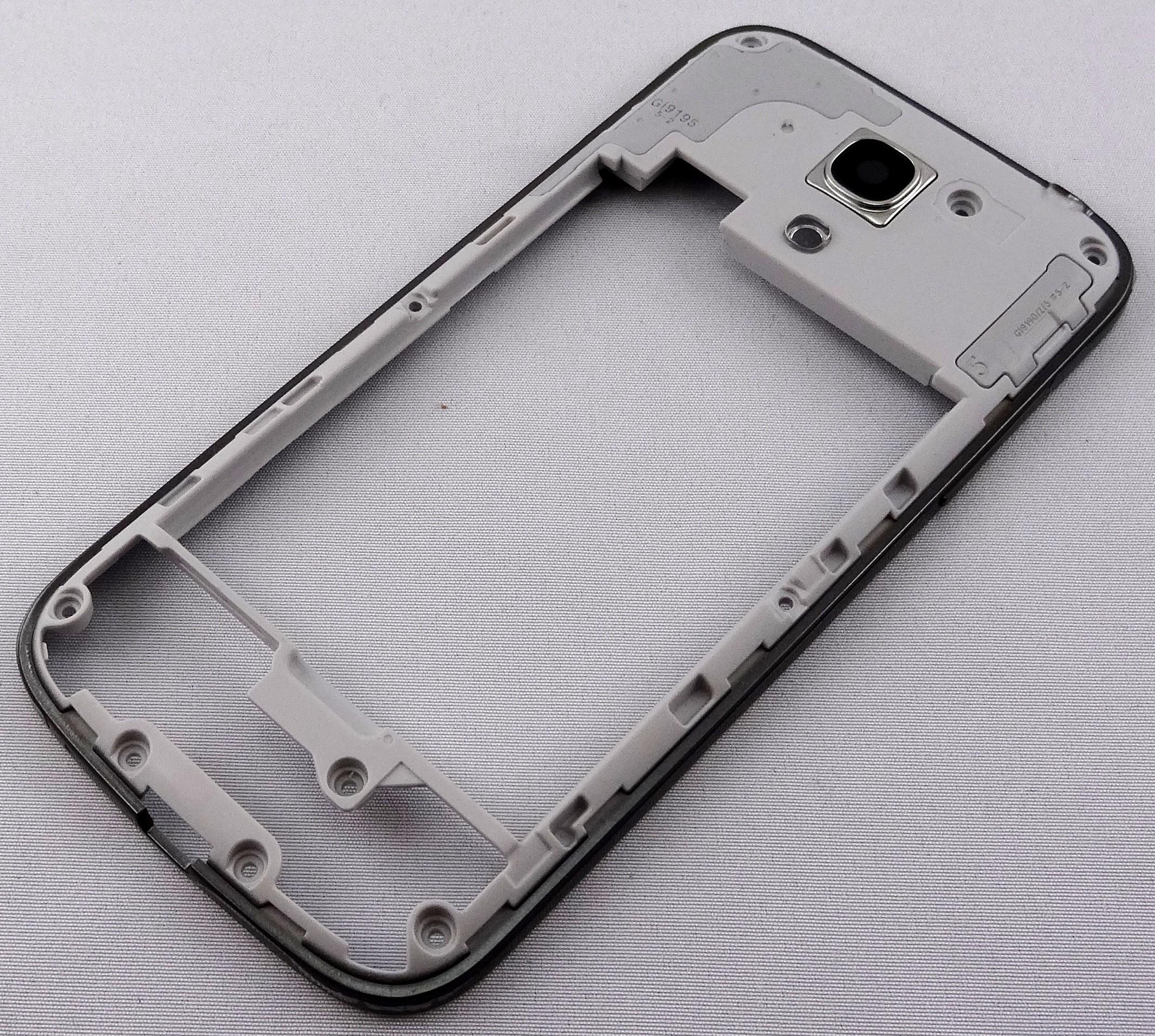 Original Rahmen für Samsung Galaxy S4 mini Black Edition - MobileGSM