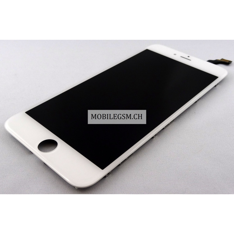 iphone 6 plus lcd display mit glas touch panel in weiss. Black Bedroom Furniture Sets. Home Design Ideas