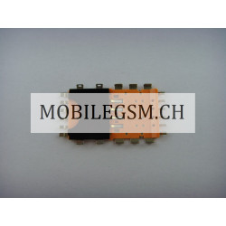 SIM-Kartenleser simhalterung sim kontakte sim pin Blackberry 9900