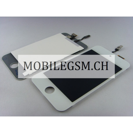 Lcd Display Glas Touch iPod Touch 4G weiss