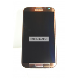 GH97-14112C Original LCD Display Samsung N7100 Galaxy Note II Original Braun