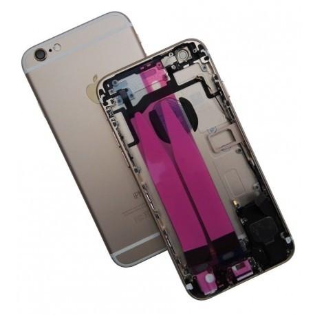 Backcover Gehäuse in Gold mit Elektronik für iPhone 6S