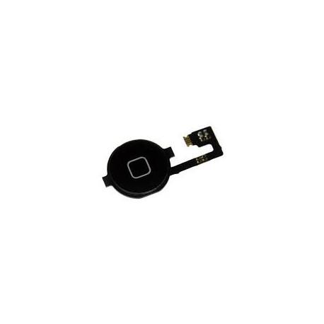 Home Button Knopf Schwarz Flex Kabel Apple iPhone 4