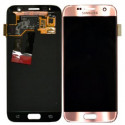 GH97-18523E Original LCD Display Pink für Samsung Galaxy S7 SM-G930F