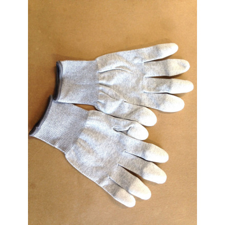 Arbeits Handschuh Grau Grösse M