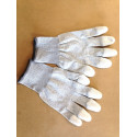 Arbeits Handschuh Grau Grösse L