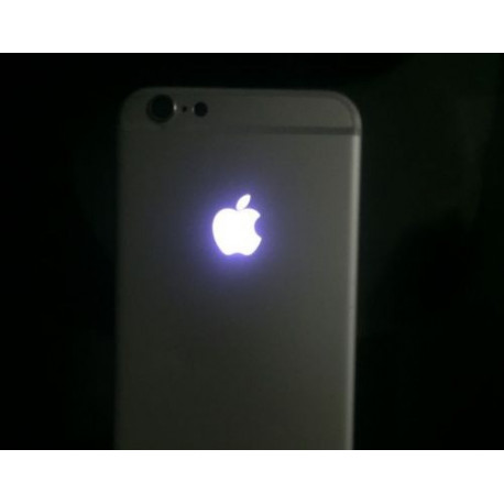 pretty nice 80b8e 54b31 Beleuchtetes Apple Logo LED Glow Logo iPhone 6S Plus Weiss