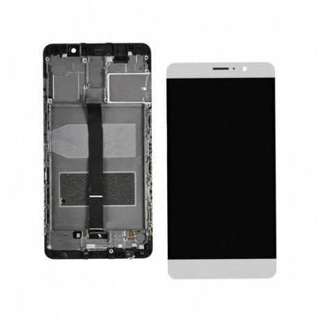Lcd Display mit Rahme Huawei Mate 9 Weiss