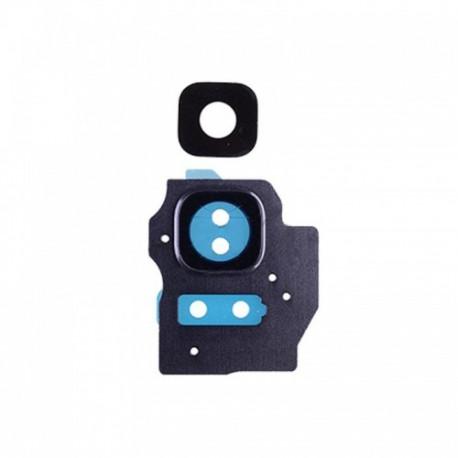 OEM Kamera Glas mit Deko in Violett für Samsung Galaxy S8 PLUS SM-G955F