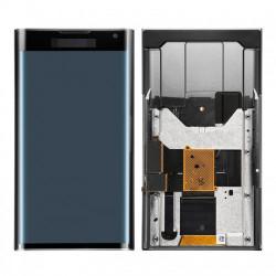 Lcd Display für BlackBerry Schwarz mit Rahmen