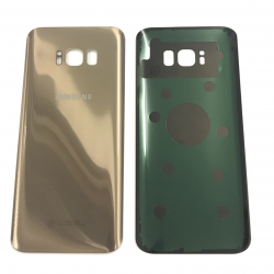 OEM Back Cover Akkudeckel Galaxy S8 PLUS mit Kleber in Gold