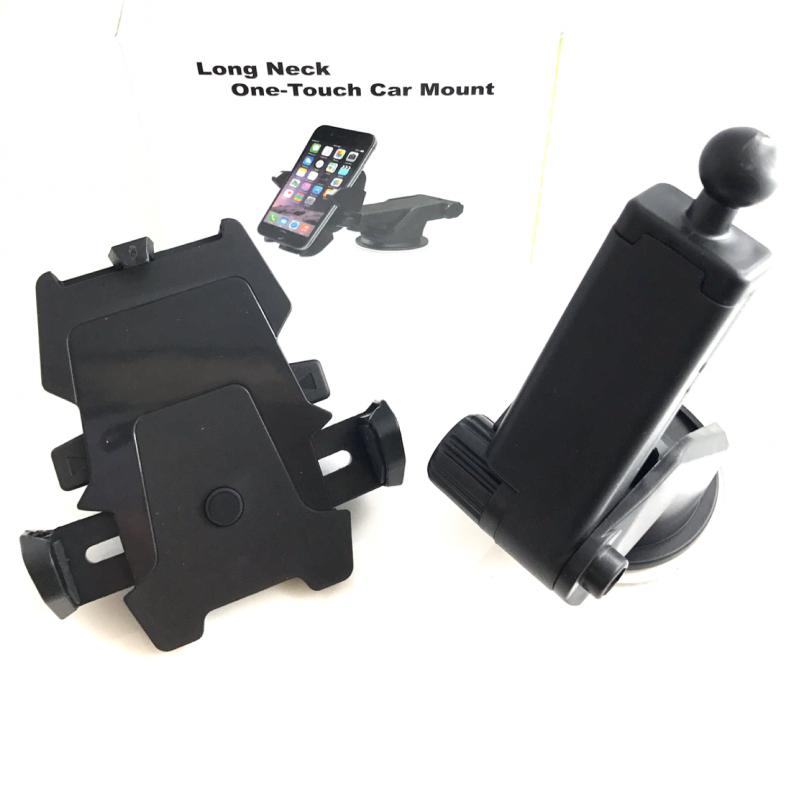universal 360 grad drehung handy halterung f r auto in schwarz. Black Bedroom Furniture Sets. Home Design Ideas