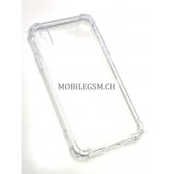 Schutzhülle, Etui für iPhone X TPU+PC Anti-wiping Protective Case in Transparent