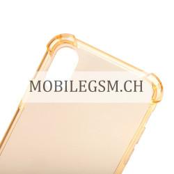 Schutzhülle, Etui für iPhone X Throttle TPU Protective Case in Gold