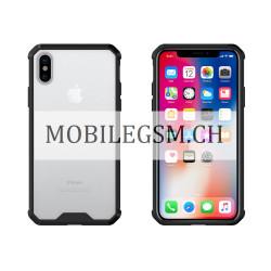 Schutzhülle, Etui für iPhone X Schwarz Protective Case