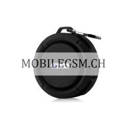 Wasserdicht C6 Portable Wireless Bluetooth Speaker Lautsprecher in Schwarz