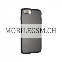 Sport Silikonhülle in Schwarz für iPhone 7 / 8 PLUS