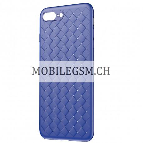 baseus silikonh lle in blau f r iphone 7 8 plus. Black Bedroom Furniture Sets. Home Design Ideas