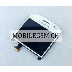 LCD Display mit Glas / Touch Panel für BlackBerry Bold 9900 WEISS
