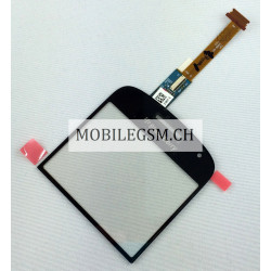 Glas / Touch Panel für BlackBerry Bold 9900 SCHWARZ