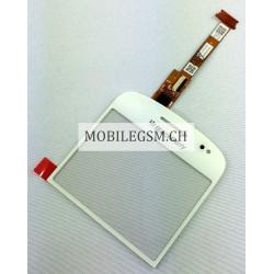 Glas / Touch Panel für BlackBerry Bold 9900 WEISS